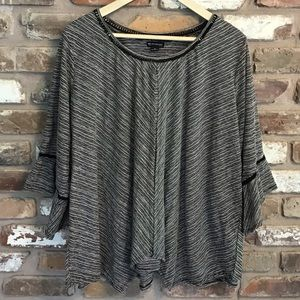New Directions Curvy Top Blouse NEW